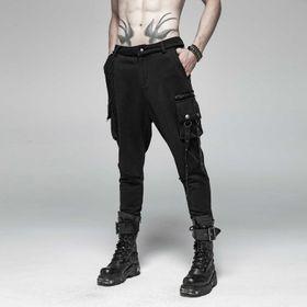 Detailbild zu PUNK RAVE Goth Army Sweat Pants