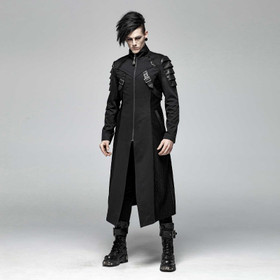 PUNK RAVE Gothic Armor Coat
