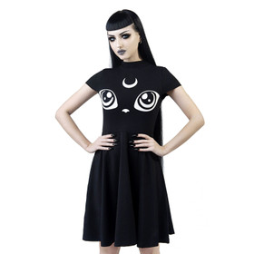 KILLSTAR Meowgical Kitty Skater Dress