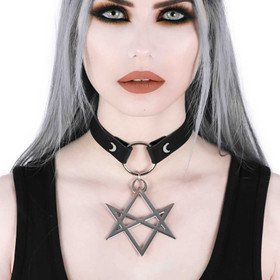 KILLSTAR Hexagram Choker