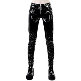 KILLSTAR Demons & DJs Vinyl Trousers