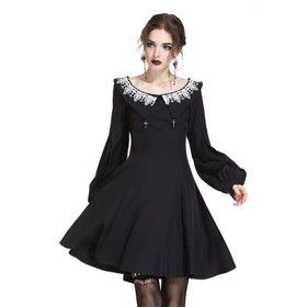 DARK IN LOVE Puritan Dress