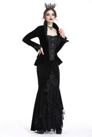 DARK IN LOVE Velvet Mermaid Gothic Rock – Bild 5
