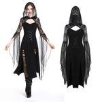 DARK IN LOVE Black Wicca Dress 001