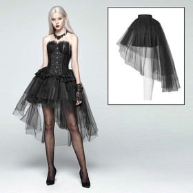 PUNK RAVE Tulle Bustle Skirt