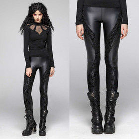 PUNK RAVE Gothic Glance Leggings