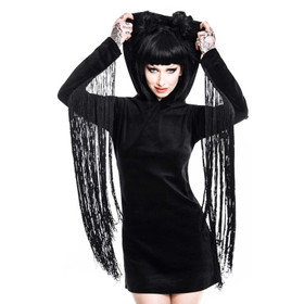 KILLSTAR Lone Wolf Fringe Dress