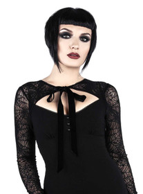 Detail image to KILLSTAR Bat To The Bone Dress