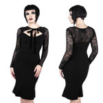 KILLSTAR Bat To The Bone Dress 001