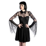 KILLSTAR Bound By Blood Chiffon Dress 001