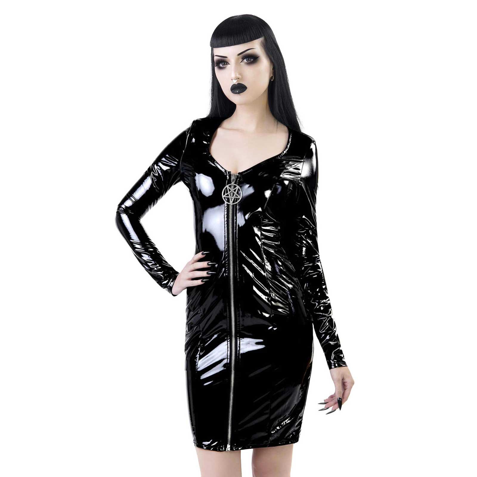 KILLSTAR Underworld Vinyl Dress