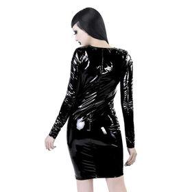 Detail image to KILLSTAR Underworld Vinyl Dress