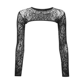 Detail image to KILLSTAR Eris Lace Bolero