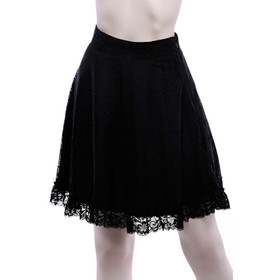 KILLSTAR Caspia Lace Skirt
