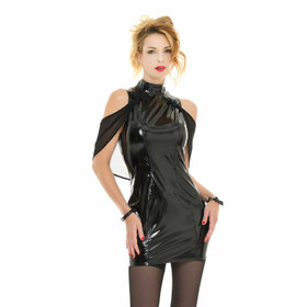 PATRICE CATANZARO Kaelys Vinyl Dress