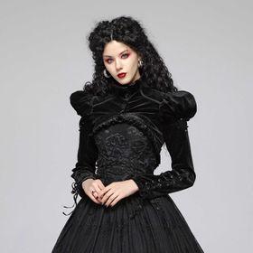 PUNK RAVE Melina Gothic Bolero Jacket