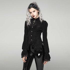 PUNK RAVE Corduroy Gothic Shirt
