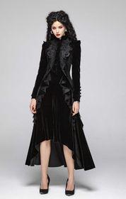 PUNK RAVE Diana Gothic Velvet Jacke – Bild 8