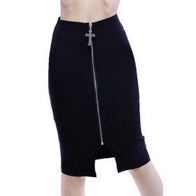 KILLSTAR Don't Cross Me Pencil Skirt