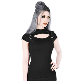 KILLSTAR Xara Keyhole Top