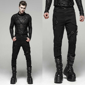 PUNK RAVE Gothic Replicant Pants