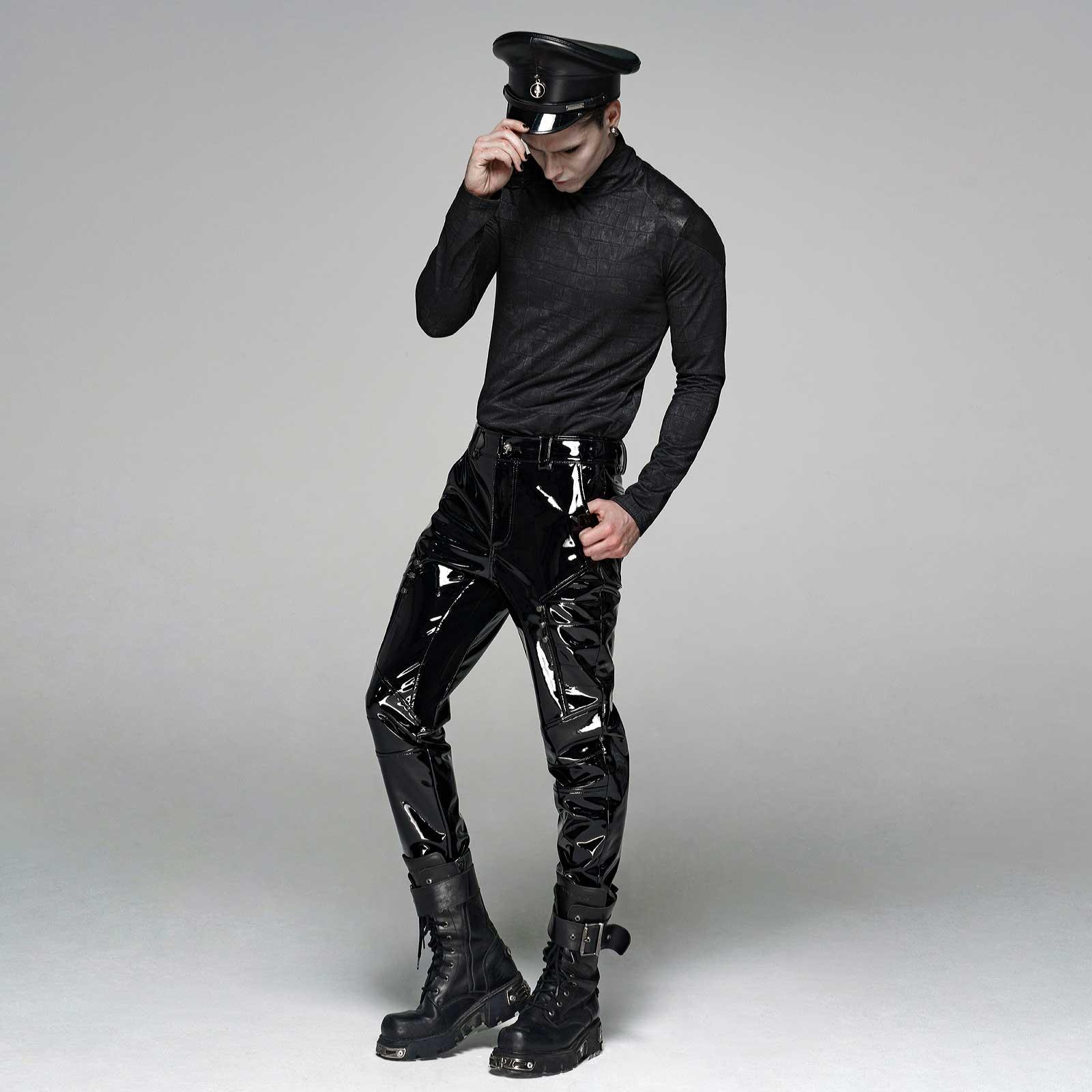 PUNK RAVE Dominator PVC Pants
