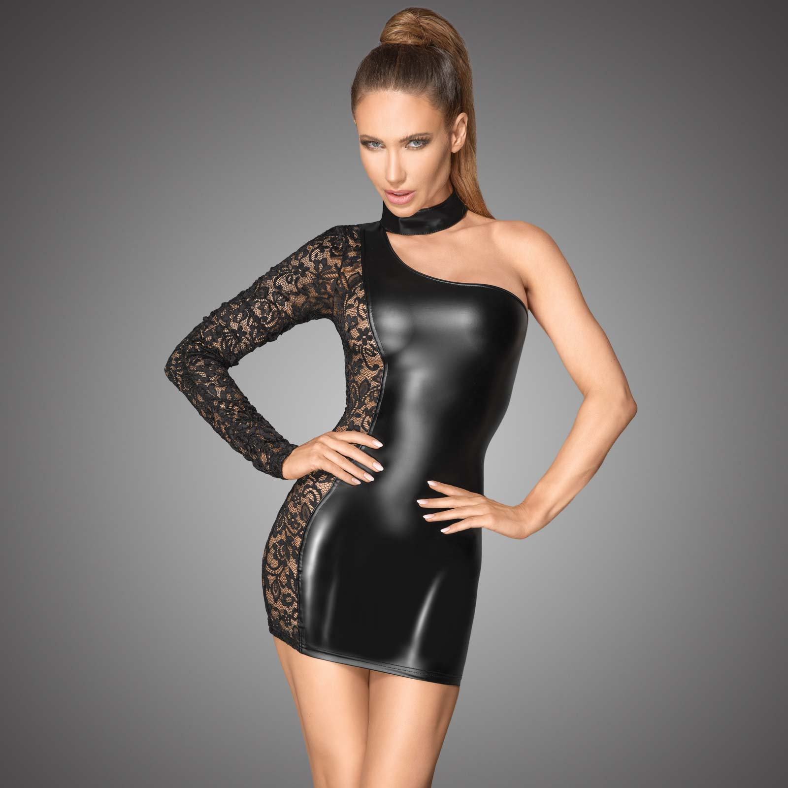 NOIR HANDMADE Rebel Mini Dress