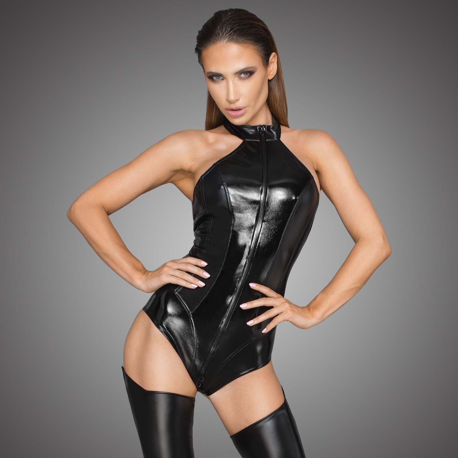 NOIR HANDMADE PU Leather Bodysuit