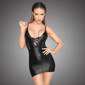 NOIR HANDMADE Wetlook Mini Dress