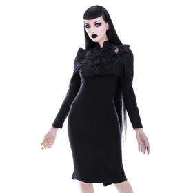 KILLSTAR Mourn Me Midi Dress
