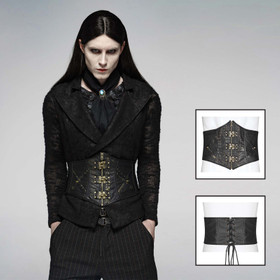 PUNK RAVE Gothic Steampunk Corset Men