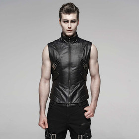 PUNK RAVE Combat Vest Top