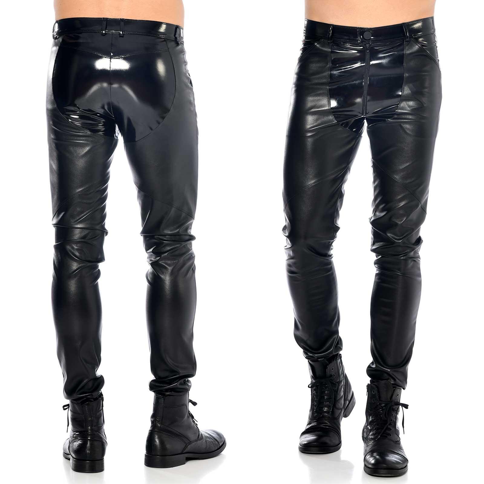 PATRICE CATANZARO Daario Leatherette Pants