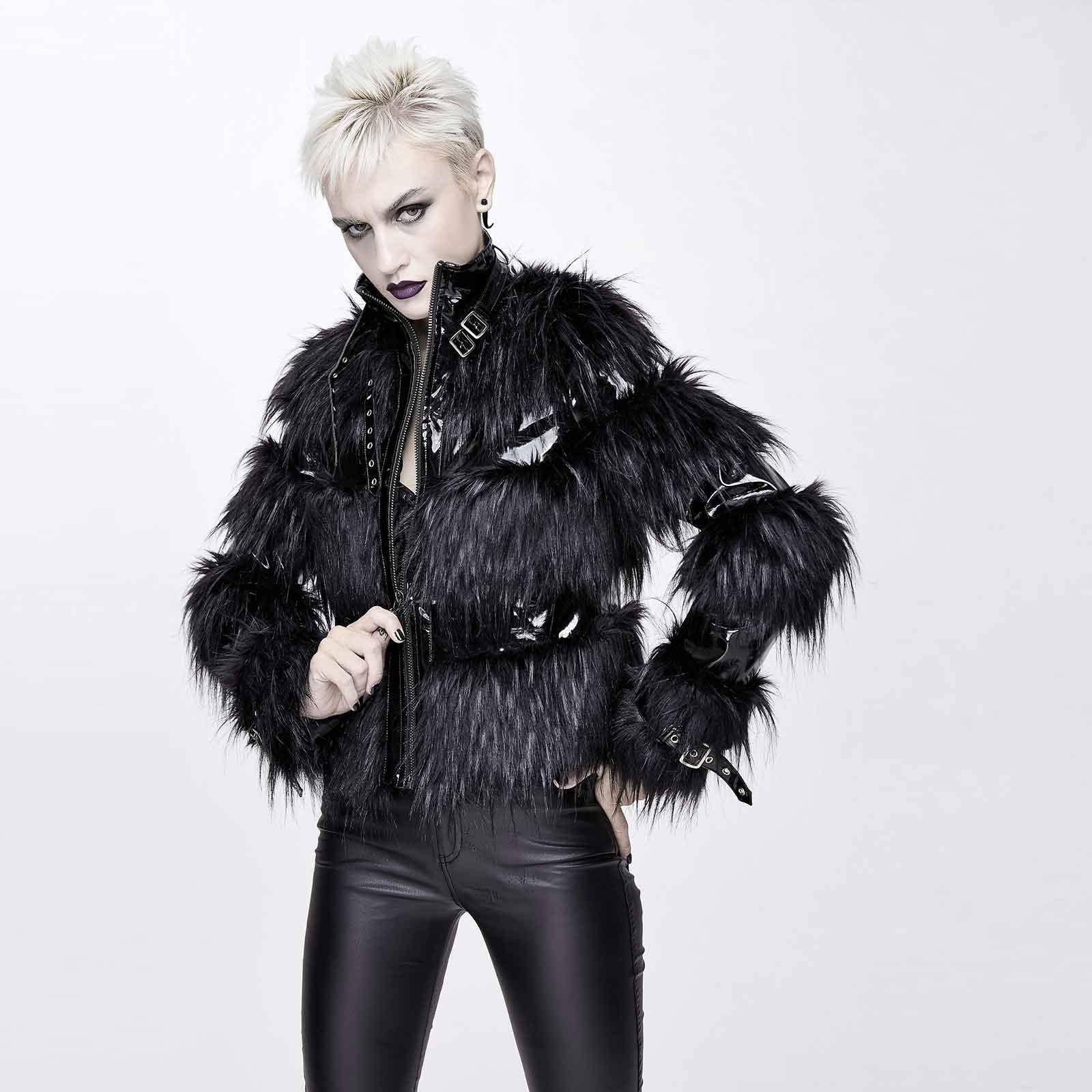 DEVIL FASHION Furious Fur Jacket