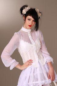 Detailbild zu ANDERSARTIG Kiss Me Tenderly Bluse Weiß