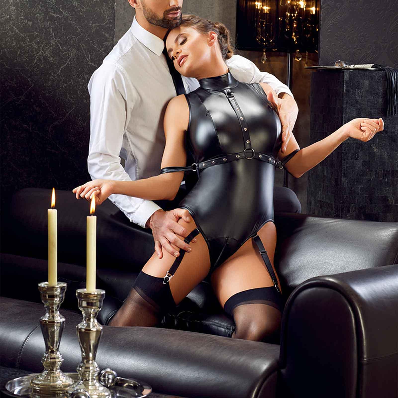 Cottelli Collection Bondage Suspender Body