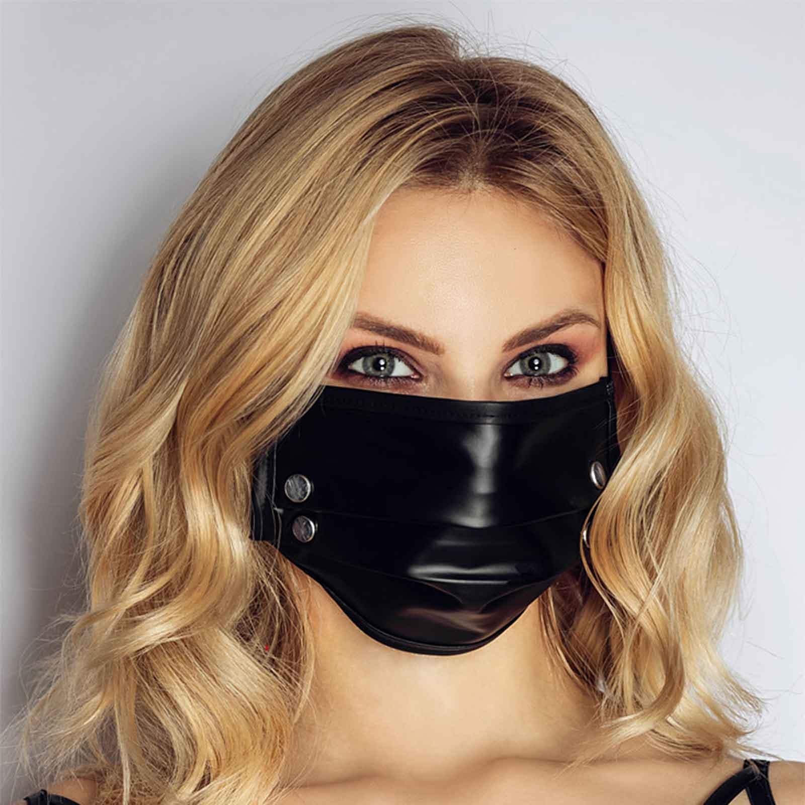NOIR HANDMADE Studded Face Mask