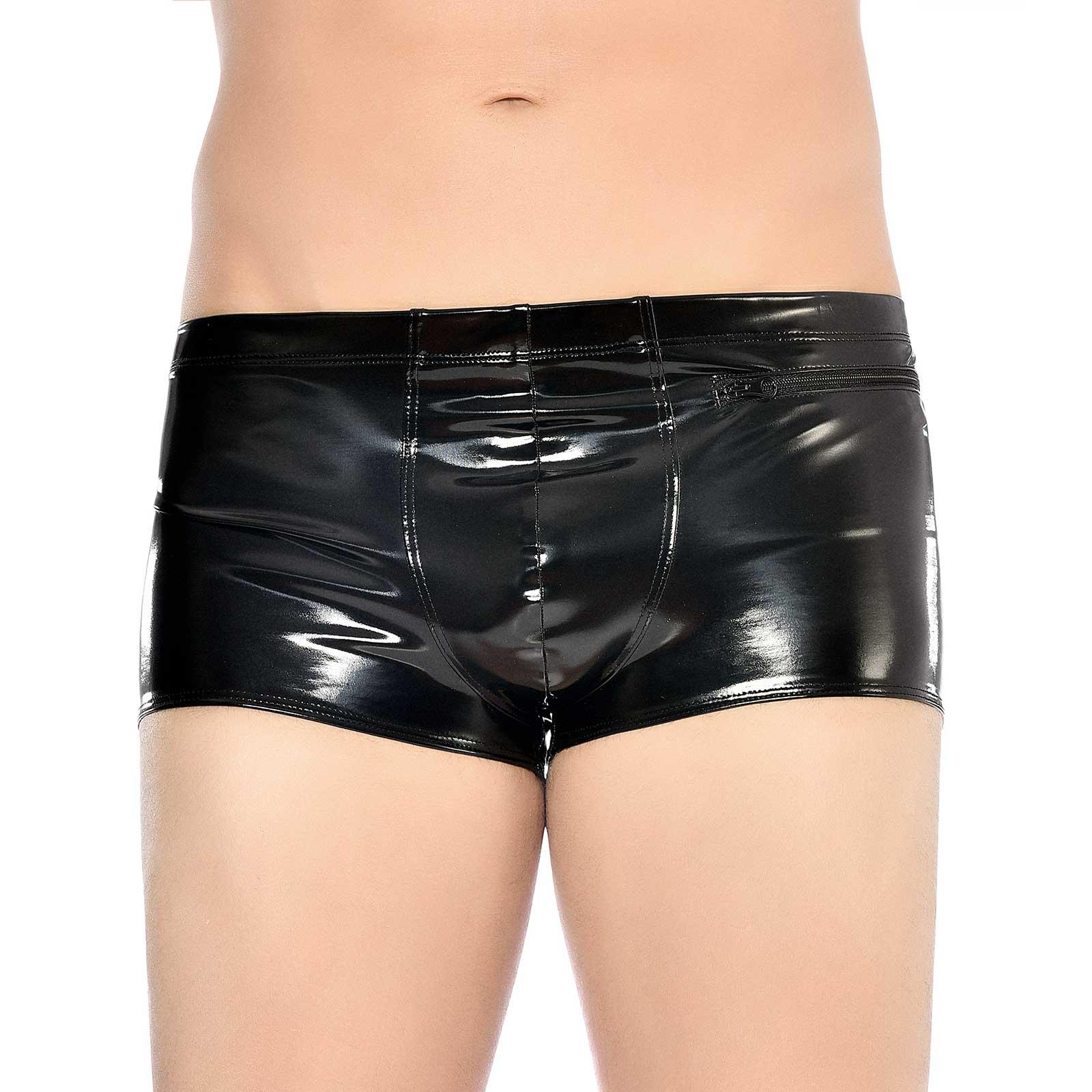 PATRICE CATANZARO Ramsay PVC Shorts