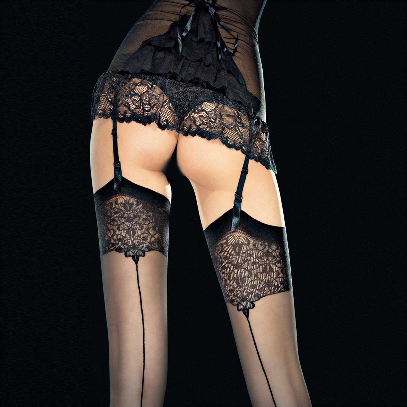 FIORE Vesper Back Seam Stockings