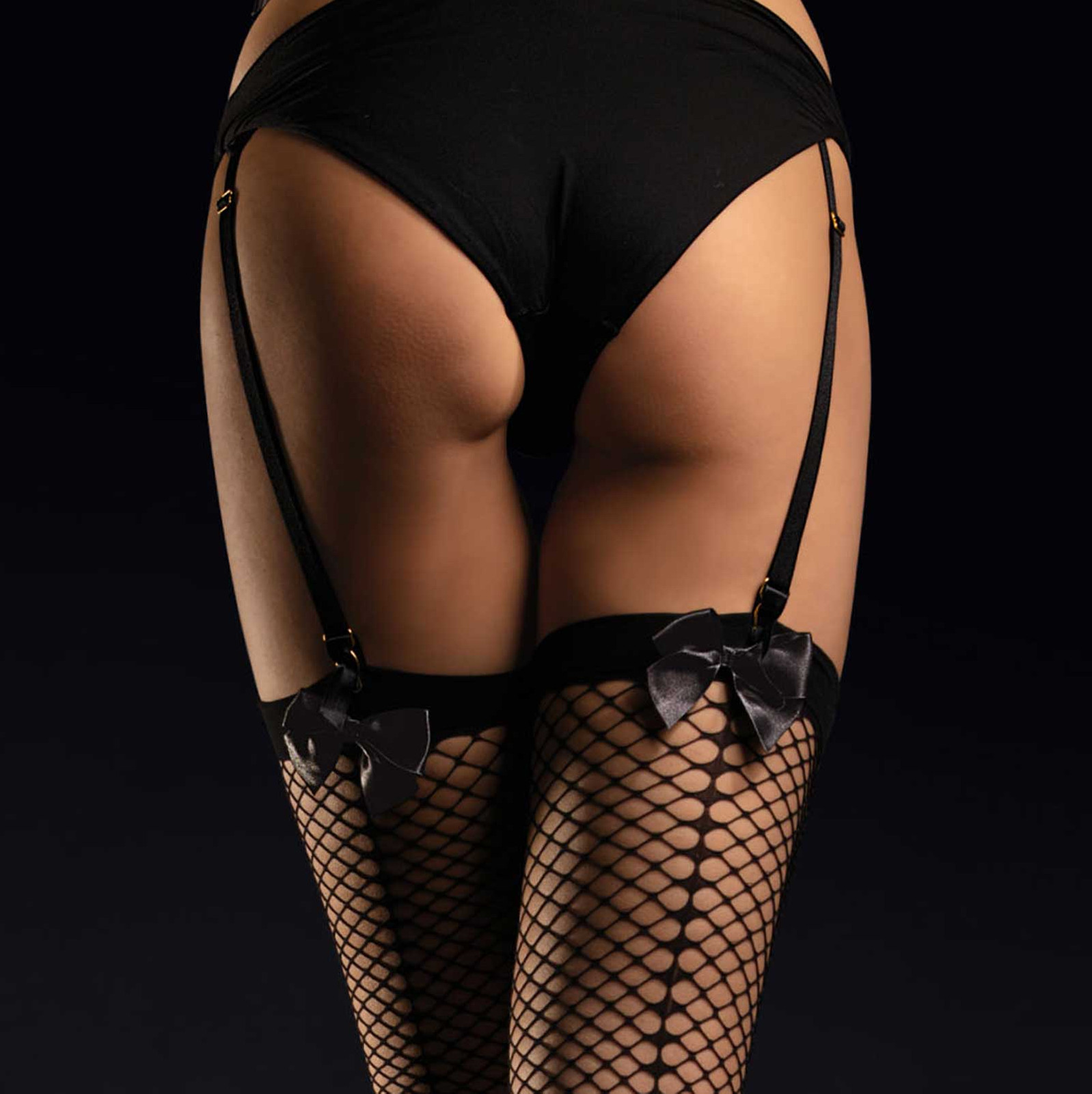 FIORE Satine Luxury Fishnet Stockings