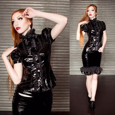 ANDERSARTIG Black Lolita Top