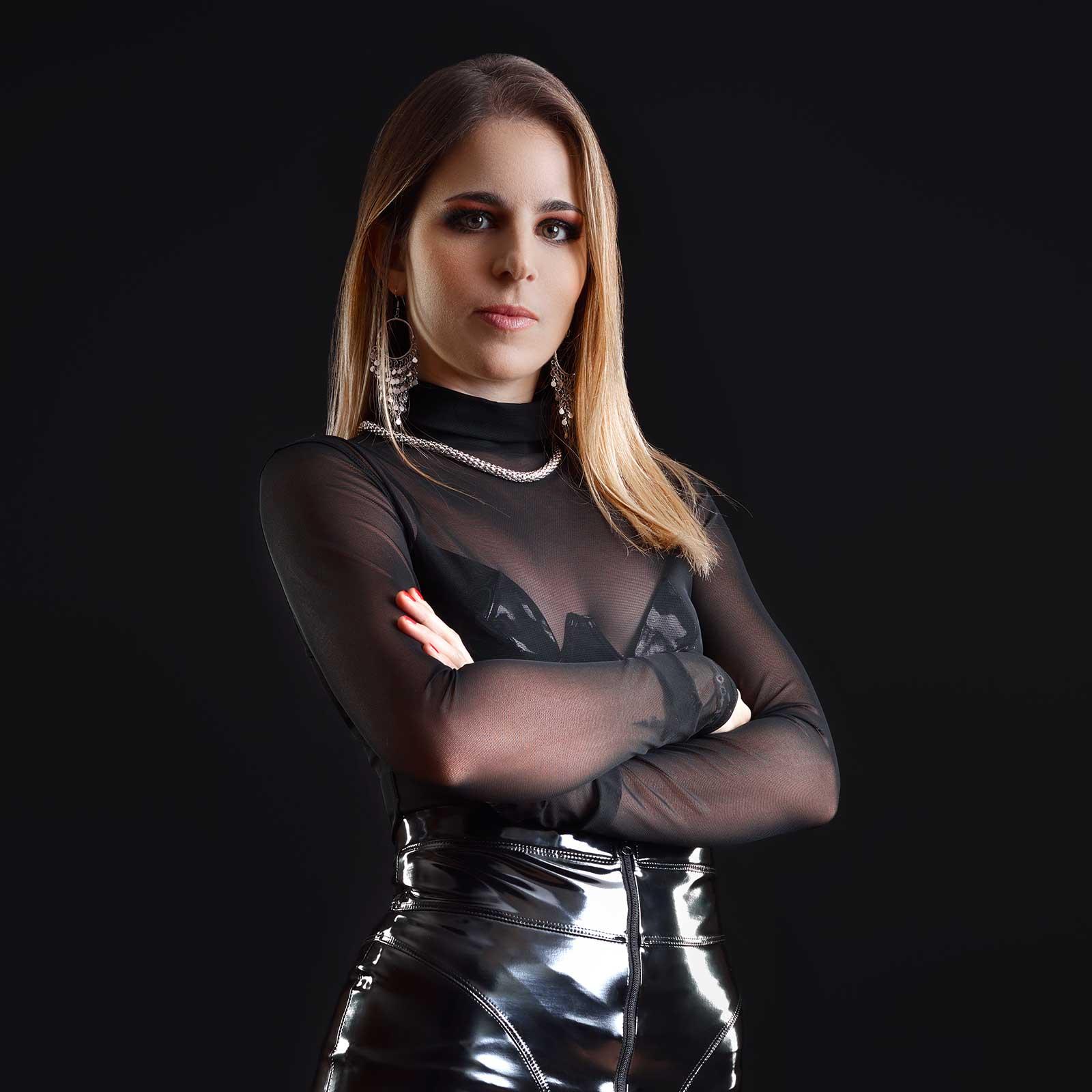 PATRICE CATANZARO Candice Mesh Top