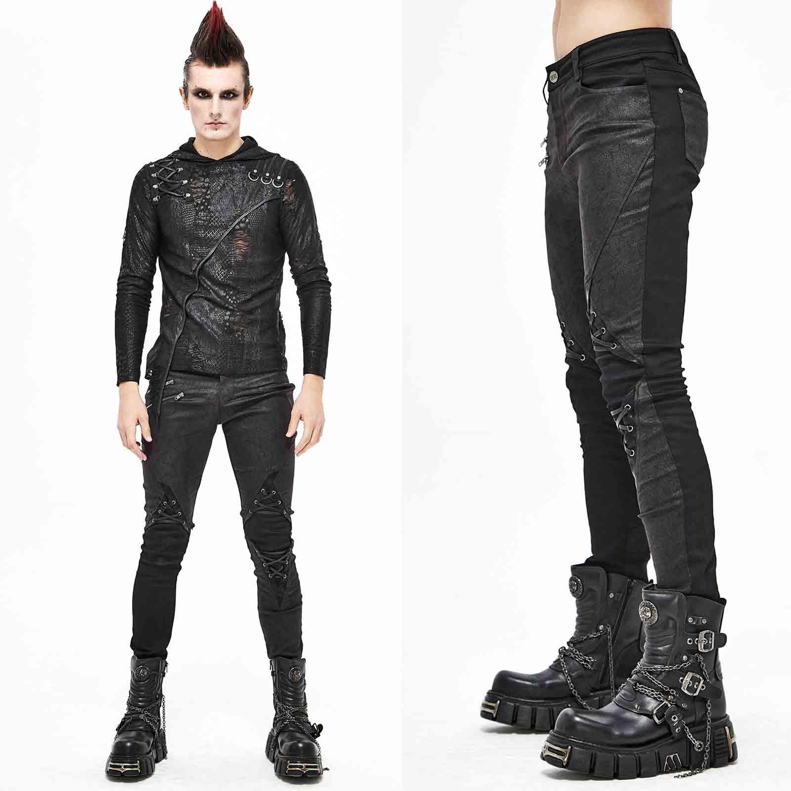 DEVIL FASHION Rage Out Skinny Pants