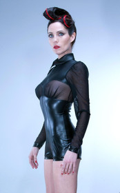 Detail image to PATRICE CATANZARO Juna Wetlook Jumpsuit