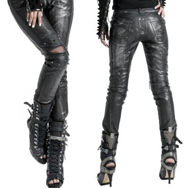 PUNK RAVE Black Metal Pants