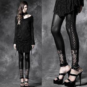 PUNK RAVE Baroque Leggings