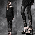 PUNK RAVE Baroque Leggings 001