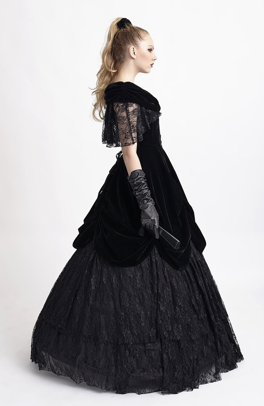 PUNK RAVE Gothic Ball Gown