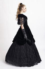 Detailbild zu PUNK RAVE Gothic Ballkleid