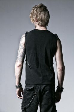 Detailbild zu PUNK RAVE Bond Cross Tank Top